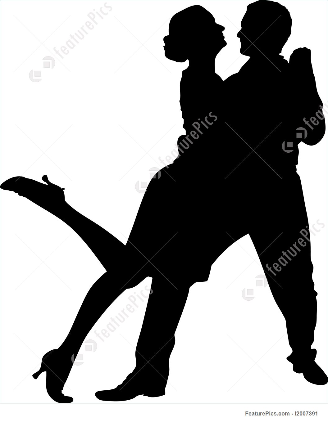 1056x1360 Silhouettes And Outlines Couple Dancing