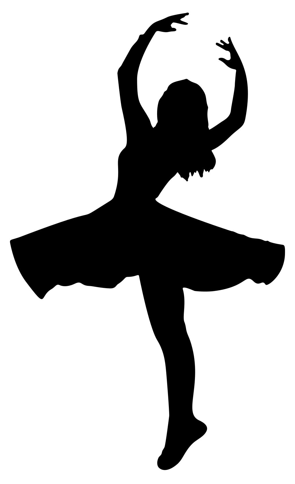 1029x1688 Female Dancer Silhouette Clipart