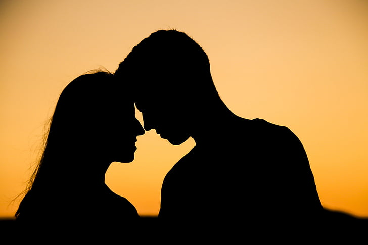 728x485 Royalty Free Photo Silhouette Of Man And Woman Pickpik