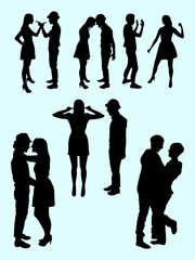 180x240 Couple Embracing Silhouette Stock Photos And Royalty Free Images