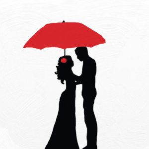 300x300 Red Umbrella Couple Etsy Au