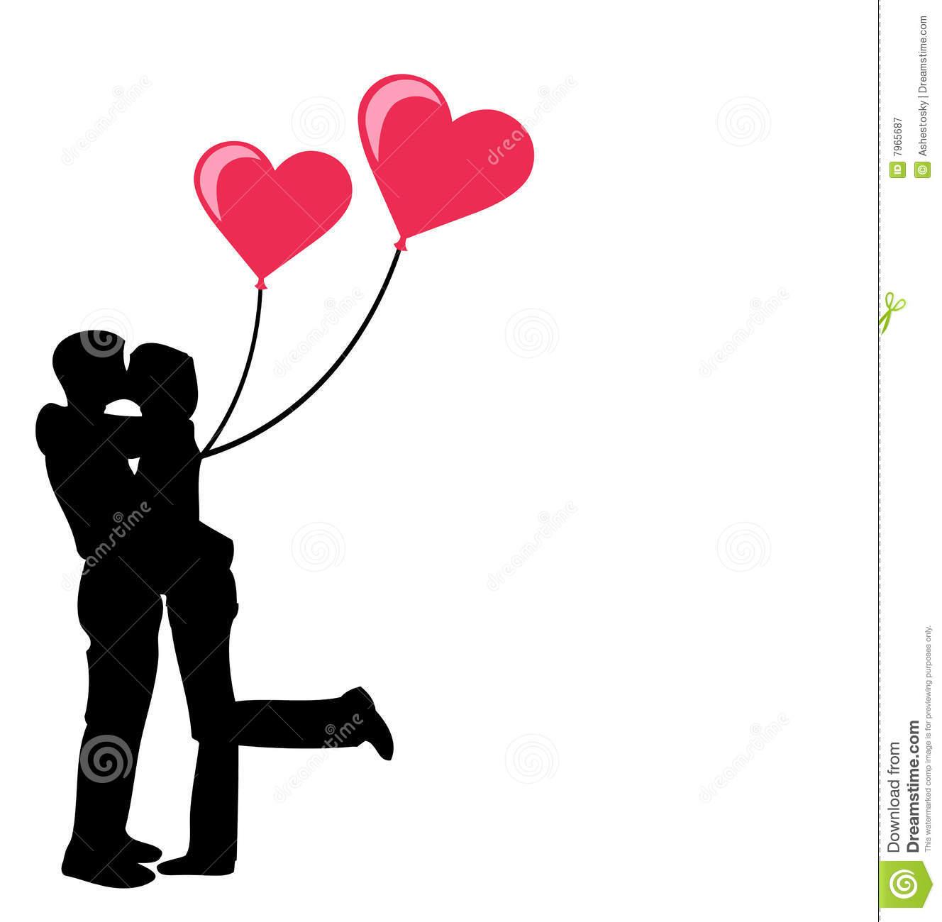 1328x1300 Clipart Heart Couple Kissing