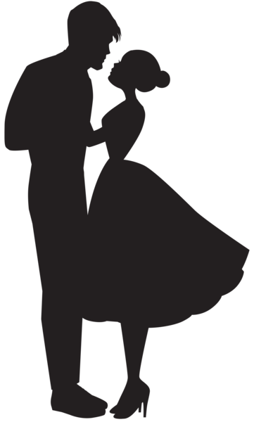 361x600 Love Couple Silhouette Png Clip Art Dance Couple