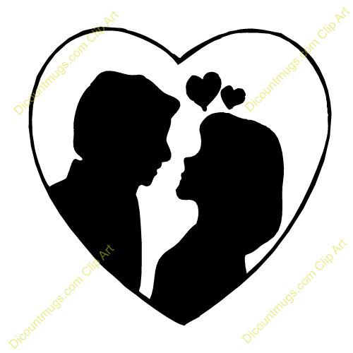 500x500 Couples Clipart