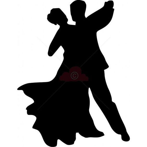564x564 Ballroom Dancing Couple Silhouette Church