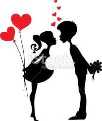 Couple Silhouette Love At Getdrawings Free Download
