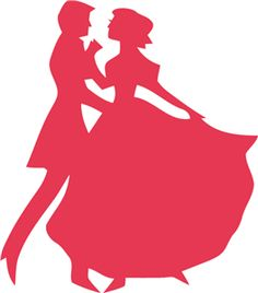 236x268 Silhouette Dancing Couple Stencils For Spoons