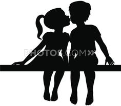 236x207 Stock Illustrations Vector Silhouette Illustration Of A Little