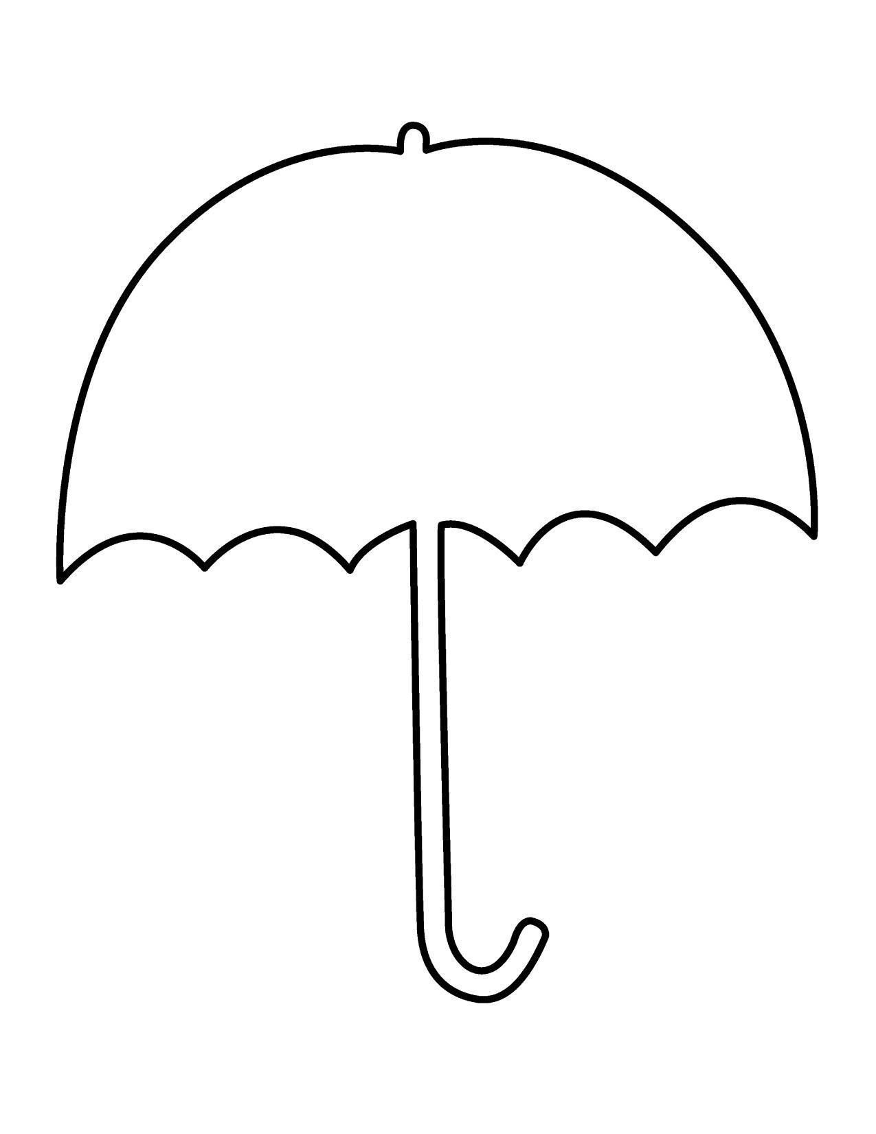1275x1650 Clip Art Umbrella Silhouette Clip Art