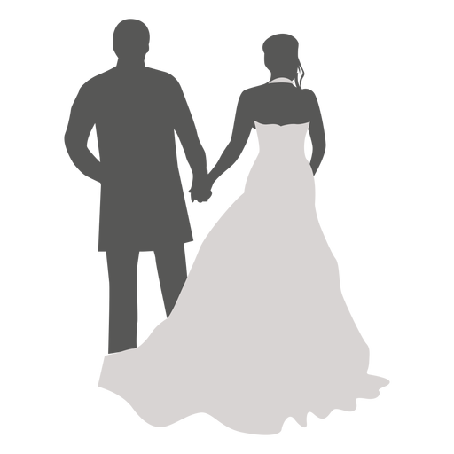 Couple Walking Silhouette