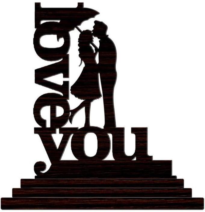 681x704 Crazyink Love You With Umbrella Couple Showpiece