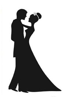 236x335 Wedding Couple Kissing Clipart