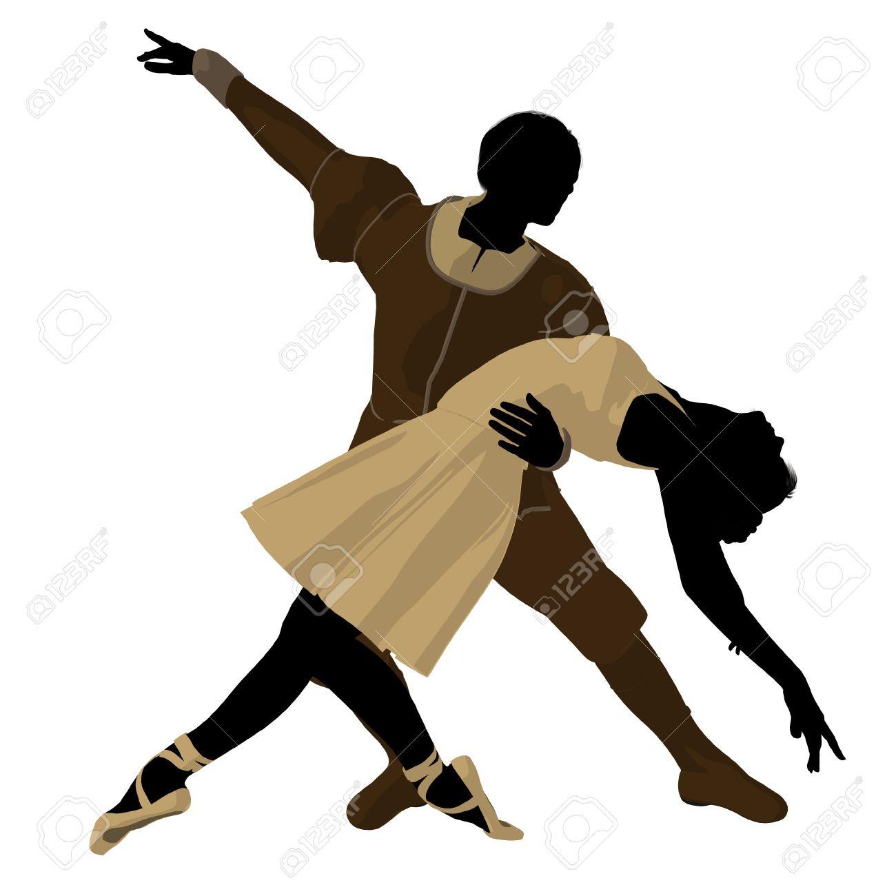 1300x1300 Ballet Clipart Couple