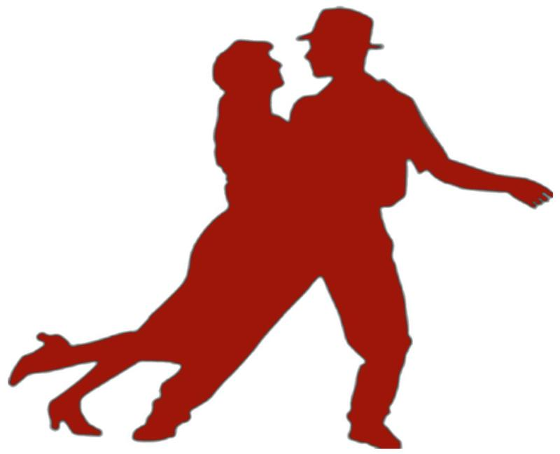 800x648 Dancing Couple Silhouette Clip Art