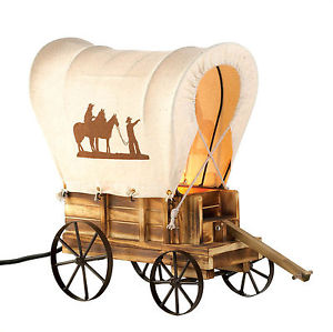 Covered Wagon Silhouette