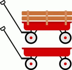 236x230 Red Wagon Red Wagon, Silhouette Design And Clip Art