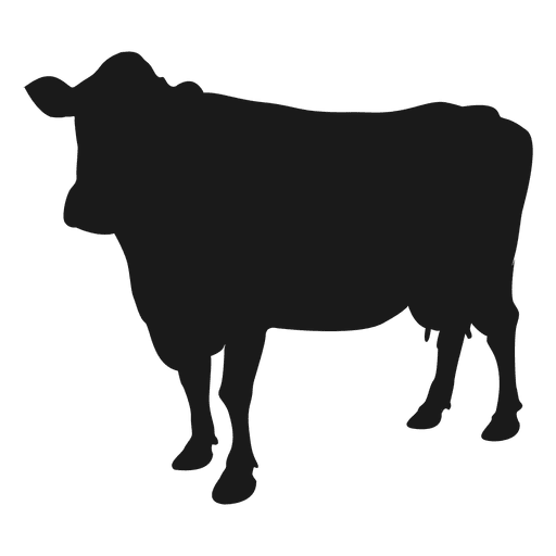 512x512 Cow Silhouette