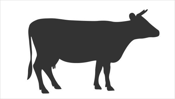 600x340 Cow Silhouettes