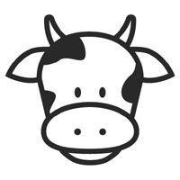 200x200 Cow Face