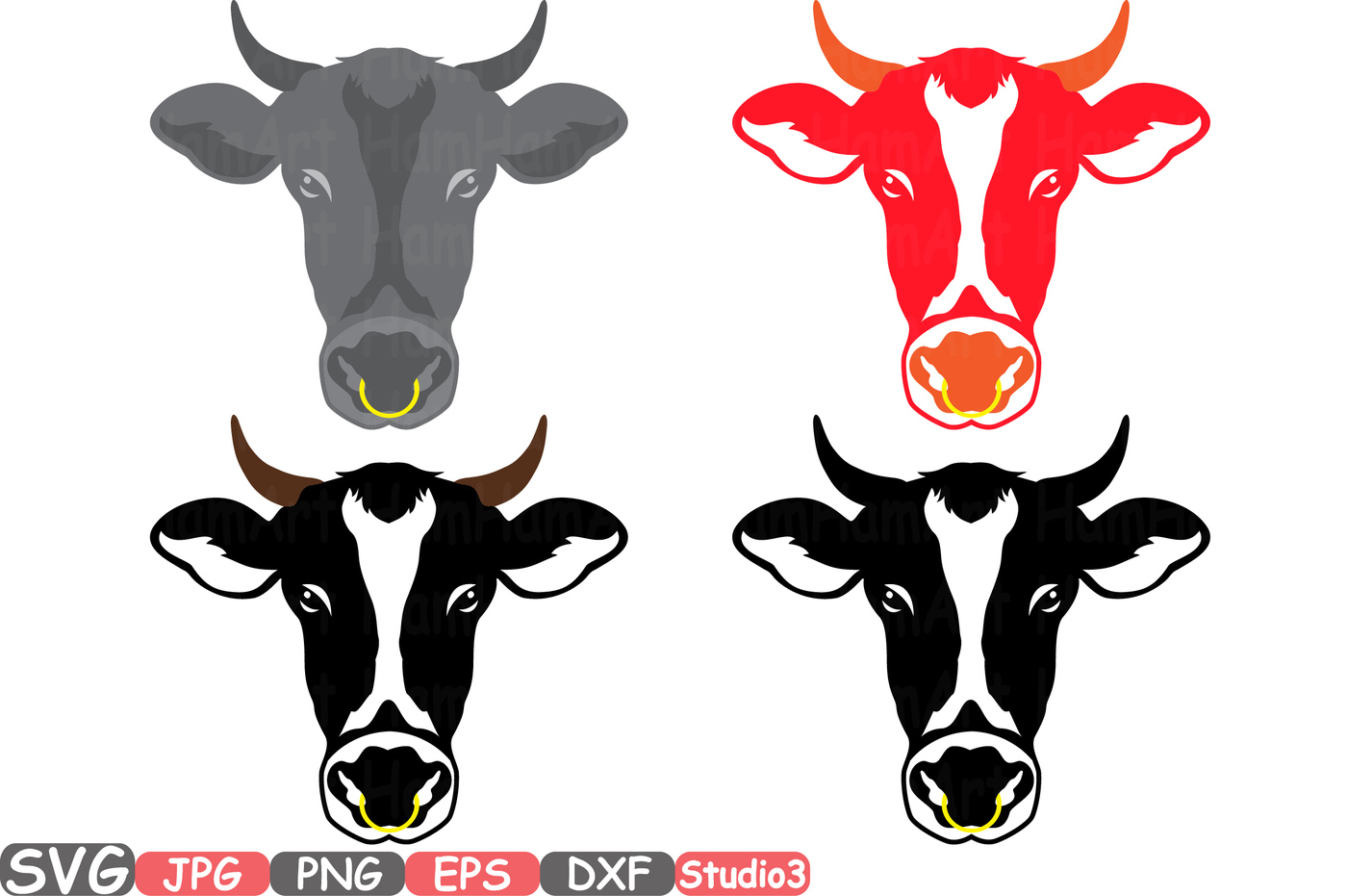 1400x931 Cow Head Horns Silhouette Svg Cowboy Bull Buffalo Boho Farm 769s