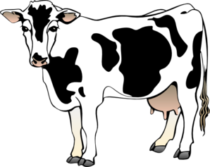 298x237 Free Dairy Cow Clipart