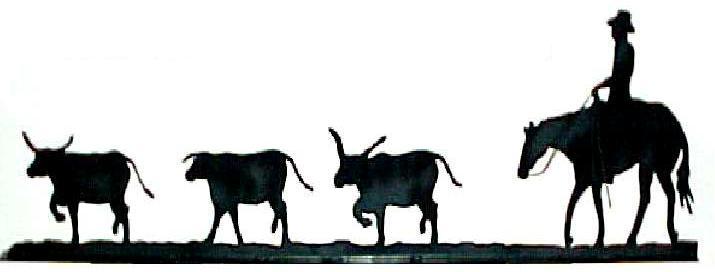715x272 Cattle Clipart Cattle Drive 3140701