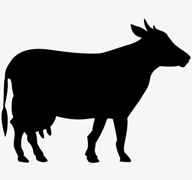 cow silhouette vector free at getdrawings com free for personal rh getdrawings com cow vector image free download cartoon cow vector free download