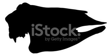 379x189 Cow Skull Silhouette Stock Vectors
