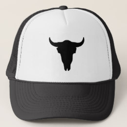 260x260 Cowboy Skull Trucker Hats Zazzle