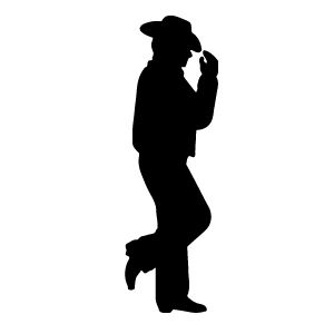 300x300 Cowgirl Cowboy Silhouette Clip Art And Girls. Description