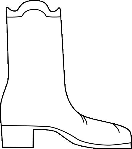 443x500 Image Cowboy Boot Silhouette Clip Art 2 Image