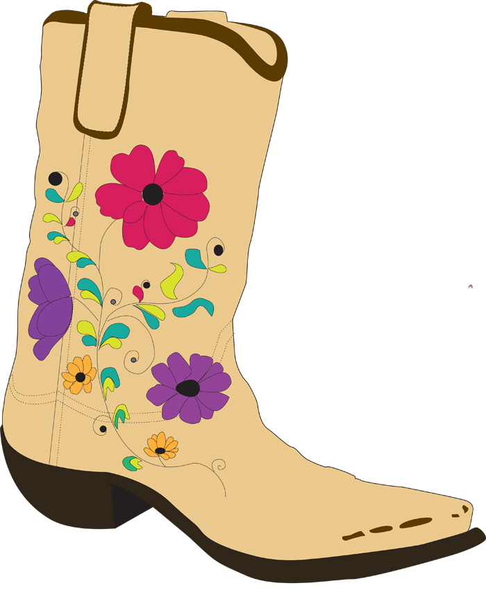 cowboy boot silhouette at getdrawings com free for personal use rh getdrawings com clip art cowboy boot with red top free clip art western boots