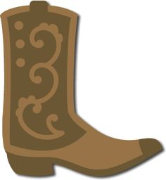 236x256 Cowboy Boots Scroll Saw Patterns Cowboy Boot Silhouette