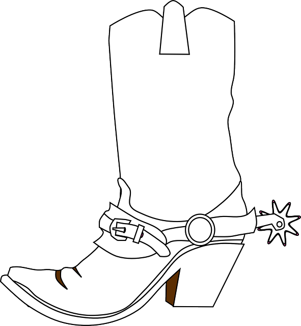 591x640 Cowboy Boots With Spurs Png Transparent Cowboy Boots With Spurs