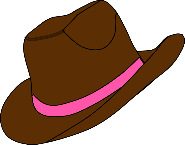 600x473 Clipart Cowboy Boots And Hat Collection