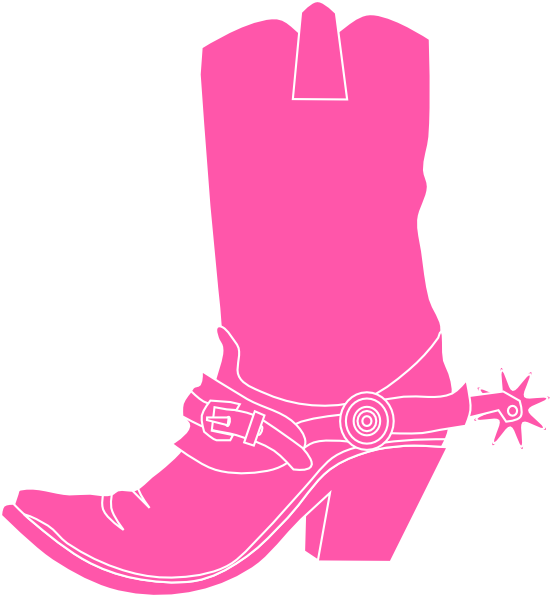 552x597 Free Sassy Cowgirl Boots Clipart
