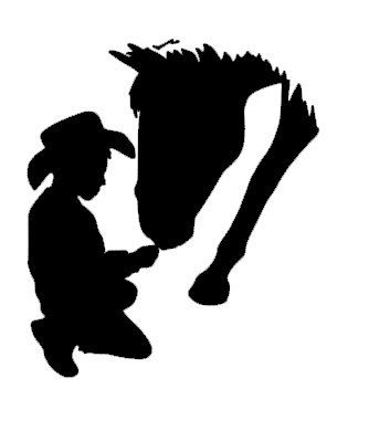 334x390 243 Best Cowboy Silhouettes Images On Horses