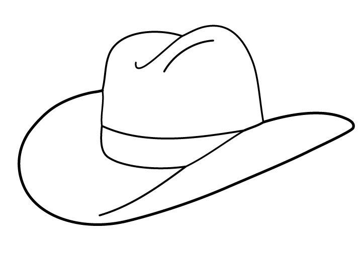 720x504 Free Cowboy Boot Outline Folioglyphs Cowboy Hat Cowboy