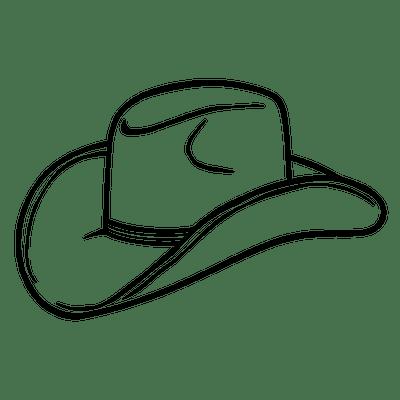 400x400 Cowboy Silhouette Transparent Png