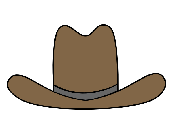 600x466 Cowboy Hat Svg File Svg File, Cowboys And Paper Piecing
