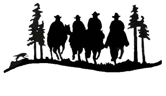 558x324 Woodworking Cowboy Silhouette Templates Plans Pdf Download Free
