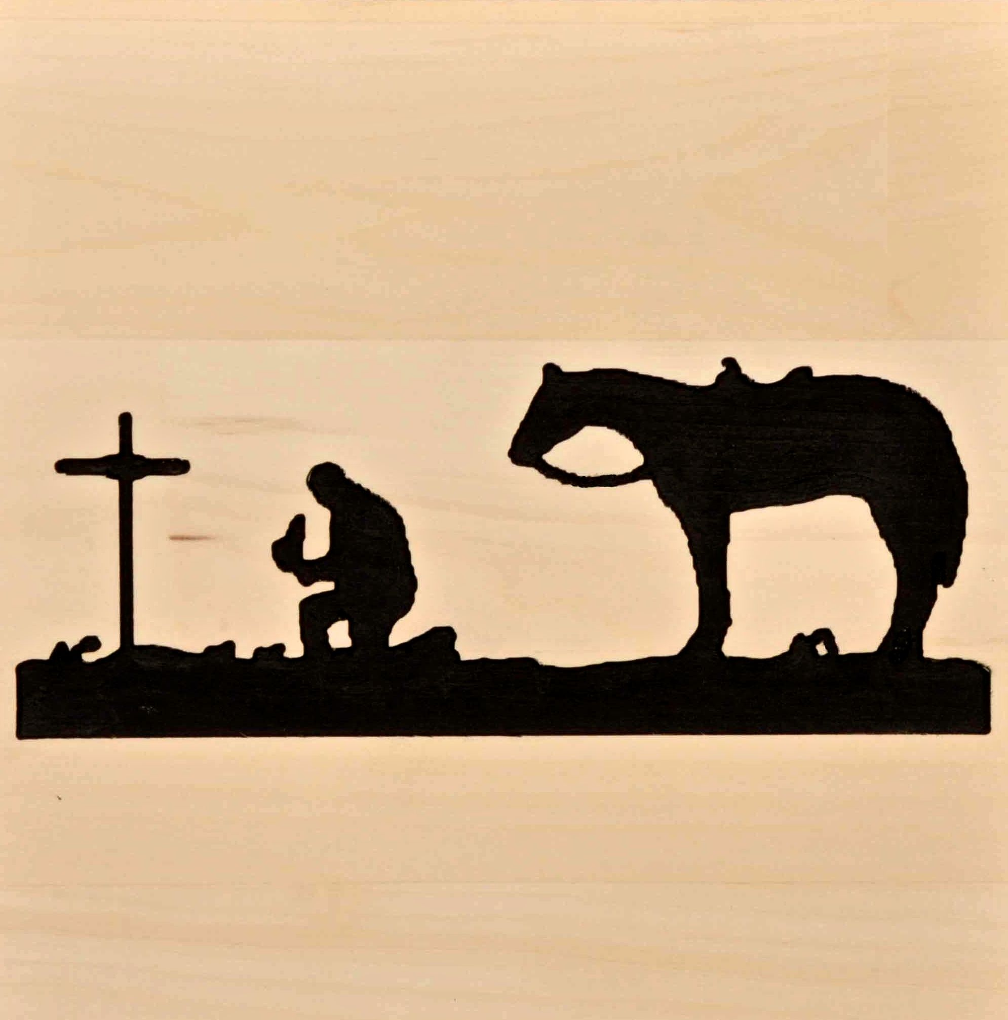 1990x2014 Free Western Patterns Cowboy Praying Silhouette Pictures