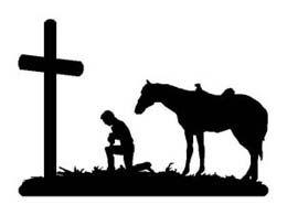 260x195 Praying Cowboy