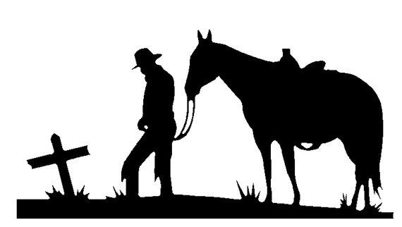 570x322 Cowboy And Horse Praying