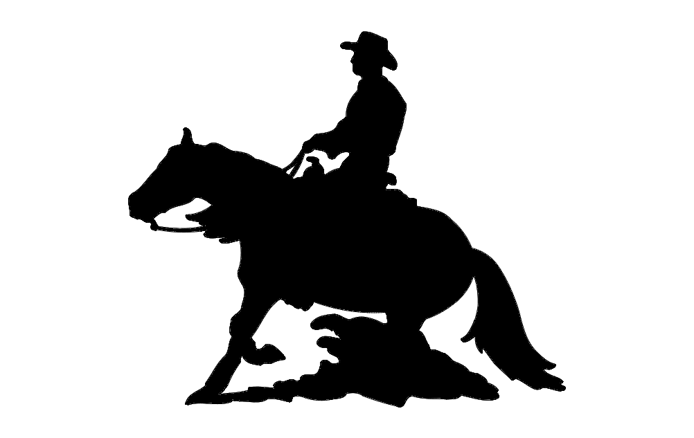 1002x633 Horse And Rider Dxf File Free Download