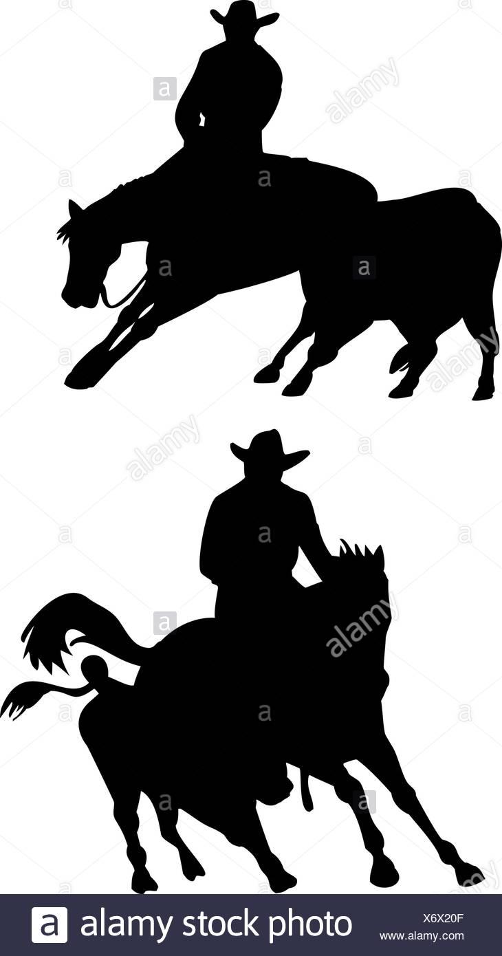730x1390 Cowboy Silhouette Riding Horse Stock Photos Amp Cowboy Silhouette