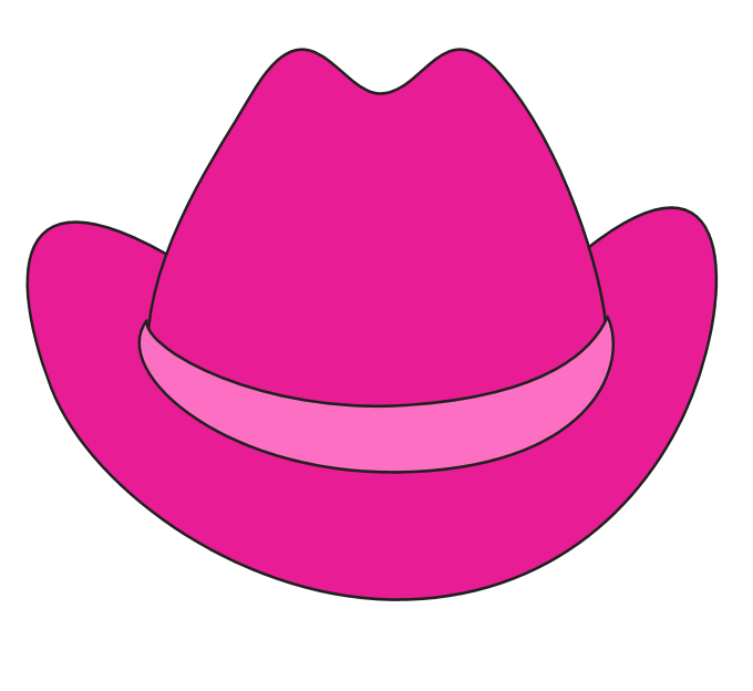 680x624 Cowgirl Hat Clipart