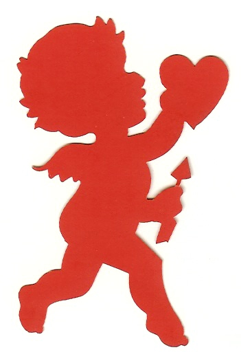 351x512 Best Photos Of Simple Cupid Outline