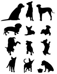 220x285 Cowboy Silhouette Clip Art Life Size Leaning Cowboys Amp Cowgirls