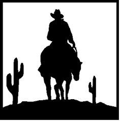 236x238 Cowboy Cowboys Horse Riders Western Wall Decal Home Decor